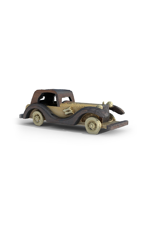 Old Car Accessories Premium 3D Model