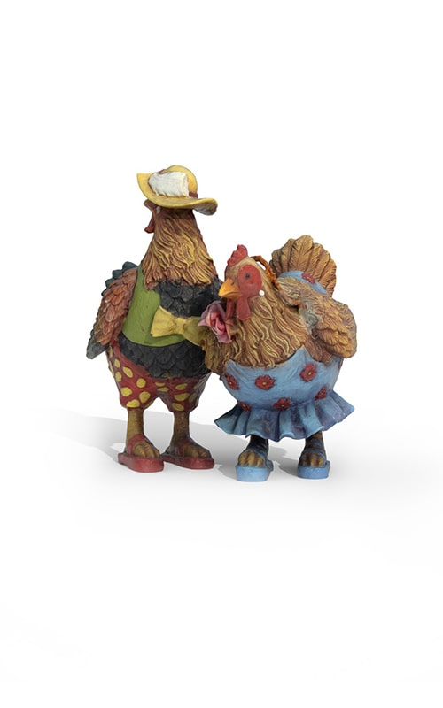 Chicken and Rooster Accessories Premium 3D Model